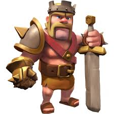 clash of clans hog rider image barbarian king info png clash of clans conception wikia