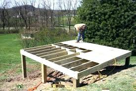 how to build a deck nz floating deck blocks building a floating deck with deck blocks