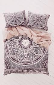 boho luxe black u0026 cream stunning boho mandala cover pillowslips love the pattern love