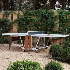 rs folding ping pong table by rs barcelona yliving