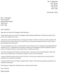 work experience cover letter example