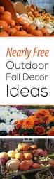 Outdoor Fall Decorating Ideas by Nearly Free Outdoor Fall Decor Ideas Garden Lovin