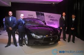maserati ghibli sport launch 2014 maserati ghibli sports sedan starting from rm538 800