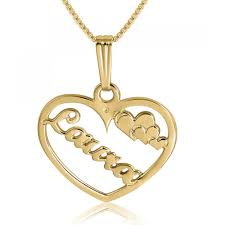 gold plated name necklace name necklace my name 24k gold plated namefactory