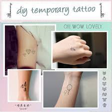 diy temporary tattoo polyvore