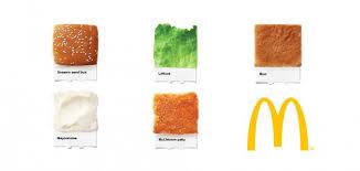 mcdonald u0027s is also matching pantone with food aterietateriet
