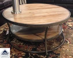 ashley furniture round coffee table ashley furniture round coffee table home design goxxo 2 tables