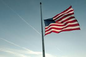 Federal Flag Half Mast Gov Orders Capitol Flags At Half Mast To Honor Officer Ginka