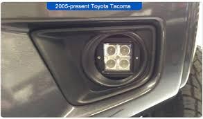 toyota tacoma fog lights toyota tacoma modification
