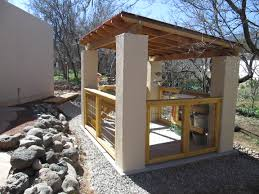 i designed and built this open concept garden shed for my wife