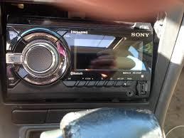 sony bluetooth usb cd double din car deck wxgt90bt saanich victoria