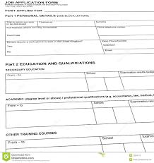 Resume Sample Blank Form by Thumbs Dreamstime Com Z Looking Job Resume Blank F