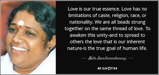 mata amritanandamayi quote is our true essence has no