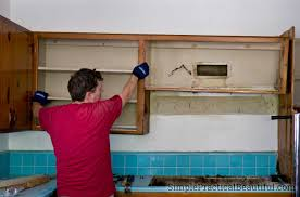 removing kitchen wall cabinets kitchen demolition simple practical beautiful