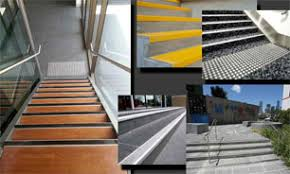 stair nosing and tactiles eagle shield