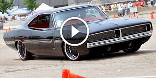 dodge charger us blasting machine 1968 dodge charger pro touring dominance by