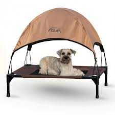 Pet Canopy Bed K H Pet Cot Canopy Bed Shade Overhang By K H Pet Products