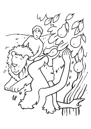 coloring pages adam and eve adam and eve coloring pages and the serpent coloringstar