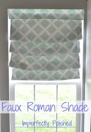 from roller shade to roman shade an update