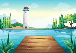 631 lake pier stock vector illustration and royalty free lake pier