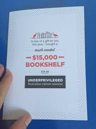 the shovel shop u2014 u0027 15 000 bookshelf for a disadvantaged cabinet