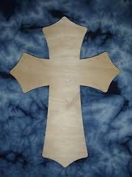 wooden craft crosses wood cross unfinished wooden craft crosses 24 inch part c24 043