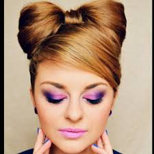 geek hairstyles hairstyle minnie mouse look from makeup geek brushes and blends pinterest