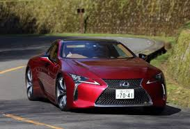 cars lexus 2017 lexus lc500 toyota u0027s luxury brand finally makes a car with drop