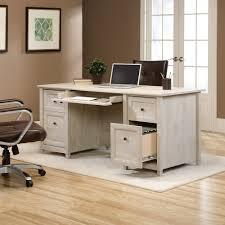 coaster oval shaped executive desk edge water executive desk 418795 sauder