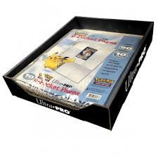 9 pocket pages ultra pro pokémon 9 pocket pages 25 packs with display 10 pages