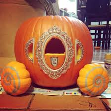 cinderella carriage pumpkin cinderella s carriage pumpkin carving with scrapbooking stick ons