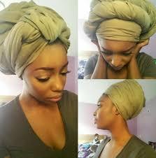 video tutorial turban style head tie headscarf turban ghanaian tutorial while hair