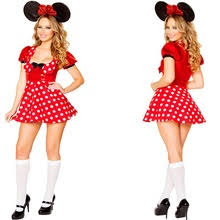 Minnie Mouse Halloween Costumes Adults Popular Minnie Mouse Halloween Costumes Buy Cheap