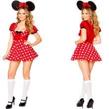 Minnie Mouse Womens Halloween Costume Popular Minnie Mouse Halloween Costume Buy Cheap Minnie
