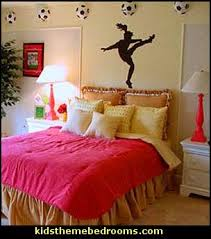 soccer decorations for bedroom decorating theme bedrooms maries manor girls sports themed