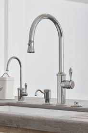 polished nickel kitchen faucets polished nickel port bridge kitchen faucet gt31 tdd 1