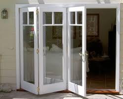 Exterior Folding Door Hardware Interesting Exterior Accordion Doors With Exterior Folding Door