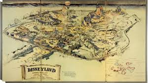 Disney Maps Rare U0027 Disneyland Hand Drawn Map Sold At Auction Nbc Southern