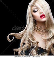 blond hair beautiful blonde stock photo 126161642
