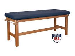 Flat Top Desk Oakworks Powerline Treatment Table