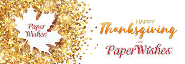 happy thanksgiving banners off the press paper wishes blog