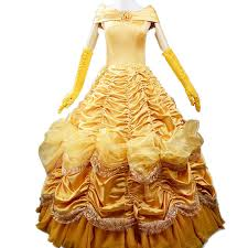 beauty and the beast halloween costumes for adults amazon com wraith of east princess belle costume beauty and
