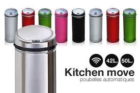 poubelle cuisine automatique poubelle automatique cuisine kitchen move poubelle de cuisine