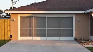 garage door screen custom top three unique garage screen doors