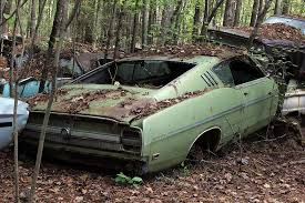 junkyard car youtube abandoned muscle cars oct by huskydiecastplanet on classic