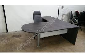 White Glass Computer Desk by Chiarreza 72
