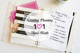 wedding planning 101 wedding planning 101 third month