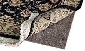 amazon com 5 u0027 x 7 u0027 ultra plush non slip rug pad for hard surfaces