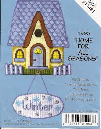 home plastic canvas kit make a house out of plastic using x make