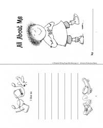minibook all about me all about me about me and all about me book
